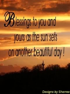 Blessings-Sunset